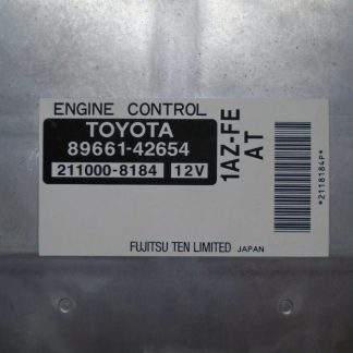 Computadora de motor 2003 Toyota Rav4 4X2 ECU ECM 2.0 A/T