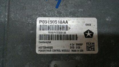 Computadora de motor ECM 2.4L 2008-2010 AVENGER