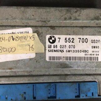 Computadora de transmisión 2004-2006 BMW X5 tcm 7 552 700
