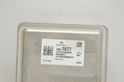 Computadora 2017 Chevrolet Cruze Ecm 12677677 A18 040